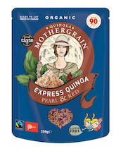 Quinoa Express Pearl Red Luomu 250g - Quinoat - QM250EXPR - 1